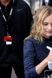 Diane Kruger Style - Outside Le Grand Journal in Cannes, May 2015