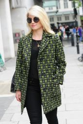 Dianna Agron - BBC Radio One Studios in London, May 2015