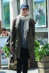 Dianna Agron Shopping in London, May 2015