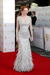 Eleanor Tomlinson – 2015 BAFTA Awards in London