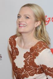 Elisabeth Moss - Red Nose Day Charity Event in NYC, May 2015