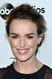 Elizabeth Henstridge - Disney Media Distribution 2015 International Upfront in Burbank