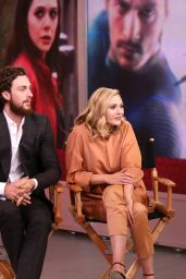 Elizabeth Olsen - Good Morning America in New York City, April 2015
