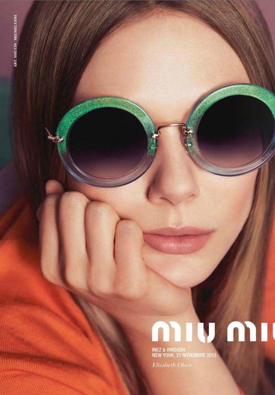 Elizabeth Olsen - Miu Miu Spring 2015 Campaign