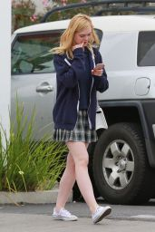 Elle Fanning - Out in Studio City, May 2015