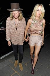 Ellie Goulding Night Out Style - Out in London, May 2015