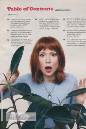 Ellie Kemper - Bust Magazine April - May 2015 Issue