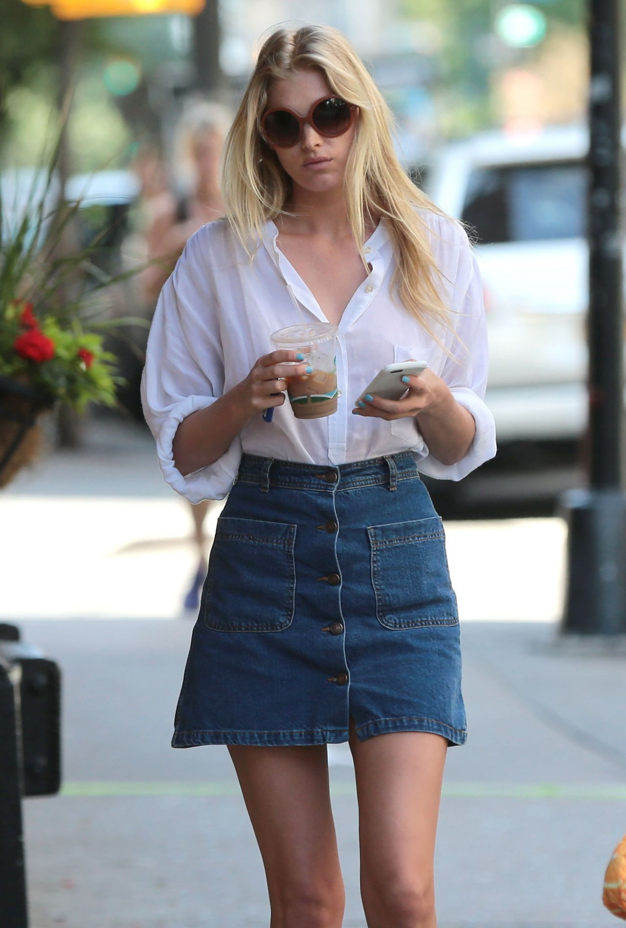 Elsa jean cut jeans