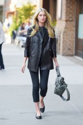Elsa Hosk Style - Out in New York City, May 2015