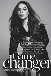 Emilia Clarke - Marie Claire Magazine (UK) - July 2015 Issue