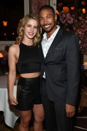 Emily Bett Rickards - 2015 CW Upfront Party in New York City