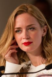 Emily Blunt - Sicario Press Conference - 2015 Cannes Film Festival