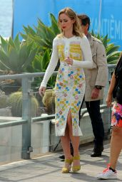 Emily Blunt Style - Out in Cannes, May 2015