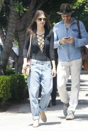 Emily Ratajkowski Street Style - Out in LA, April 2015