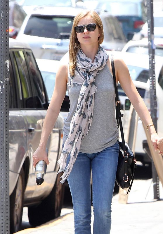Emily VanCamp - Out in Beverly Hills, May 2015