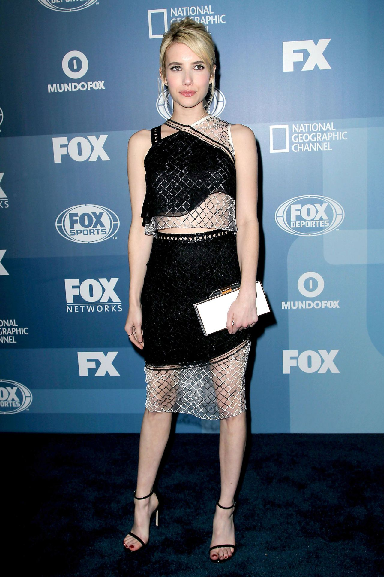 Emma Roberts Fox Network 2015 Programming Upfront In New