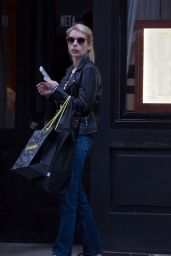 Emma Roberts - Out in SoHo, NYC, May 2015