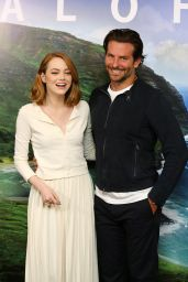 Emma Stone - Aloha Screening in London