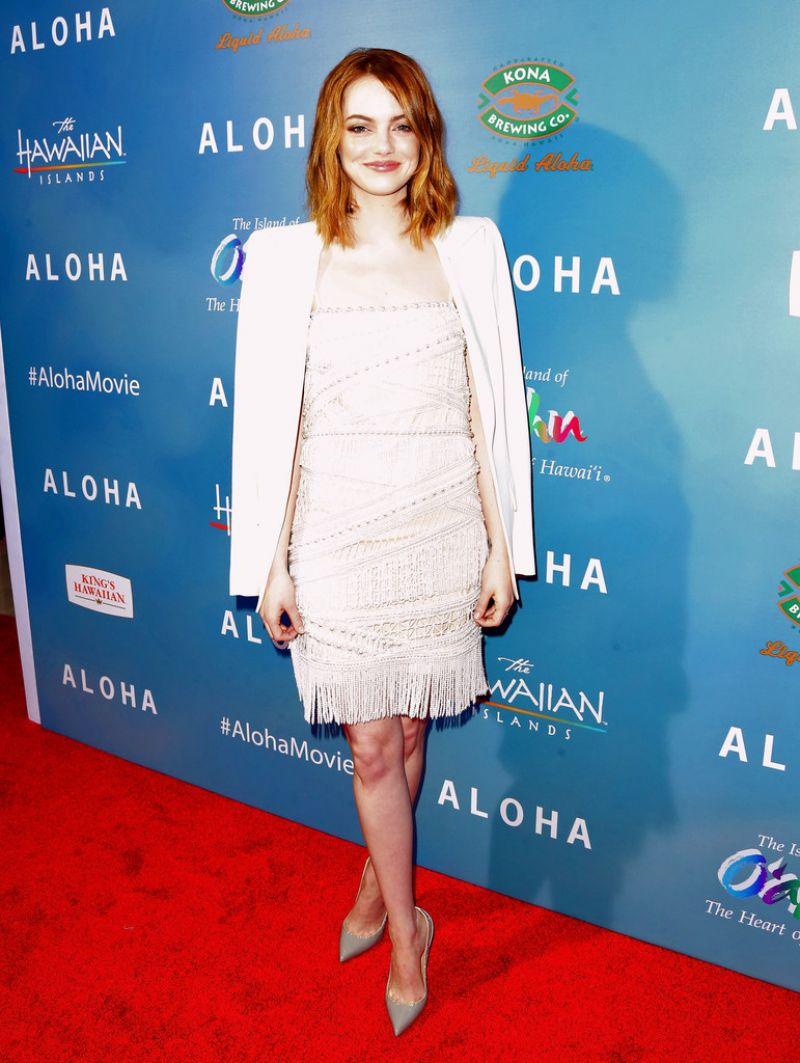 Emma Stone - Aloha Screening in West Hollywood