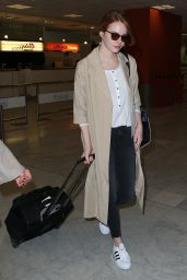 Emma Stone at Nice Airport, May 2015