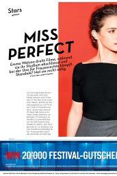 Emma Watson - 20 Minuten Magazine May-June 2015 Issue