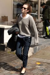 Emma Watson Casual Style - Out in London, May 2015