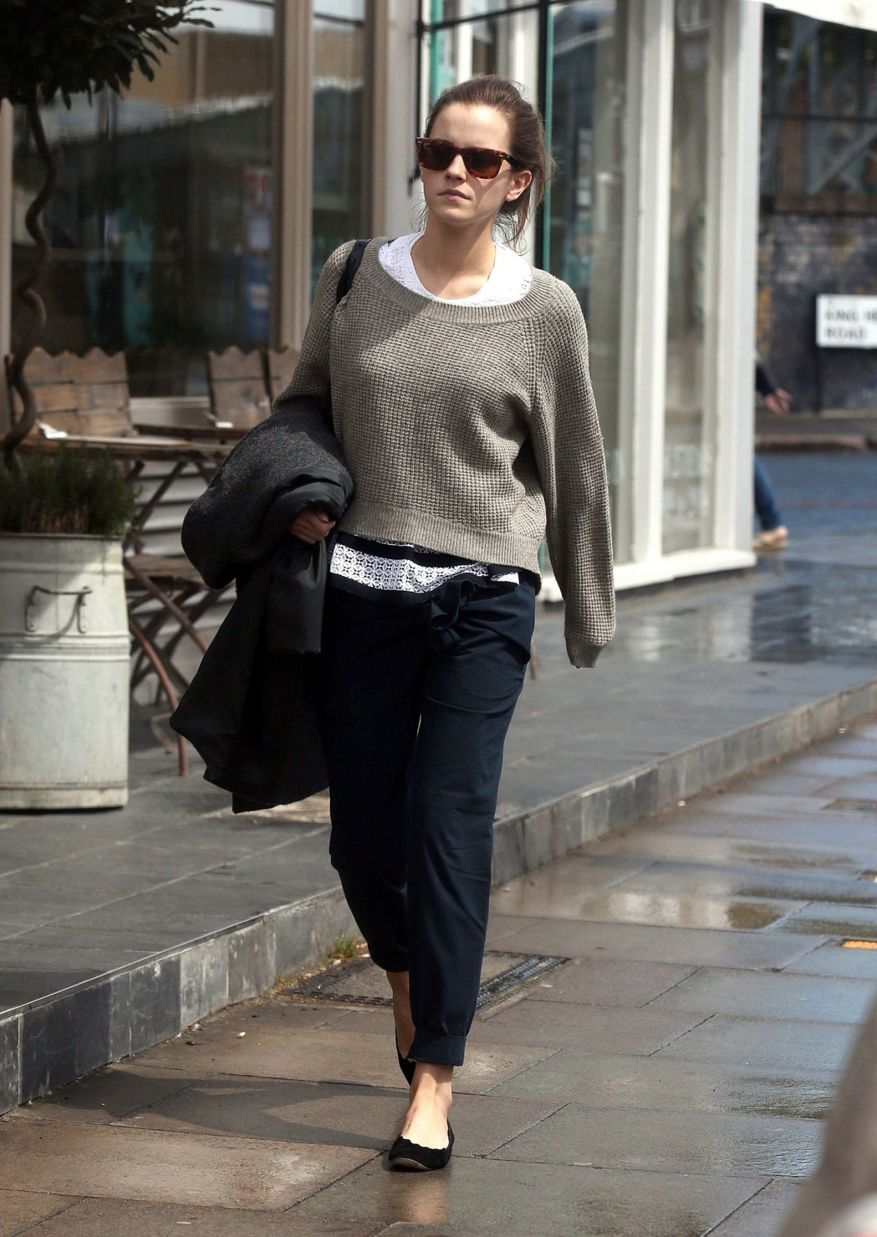 Emma Watson Casual Style Out In London May 2015