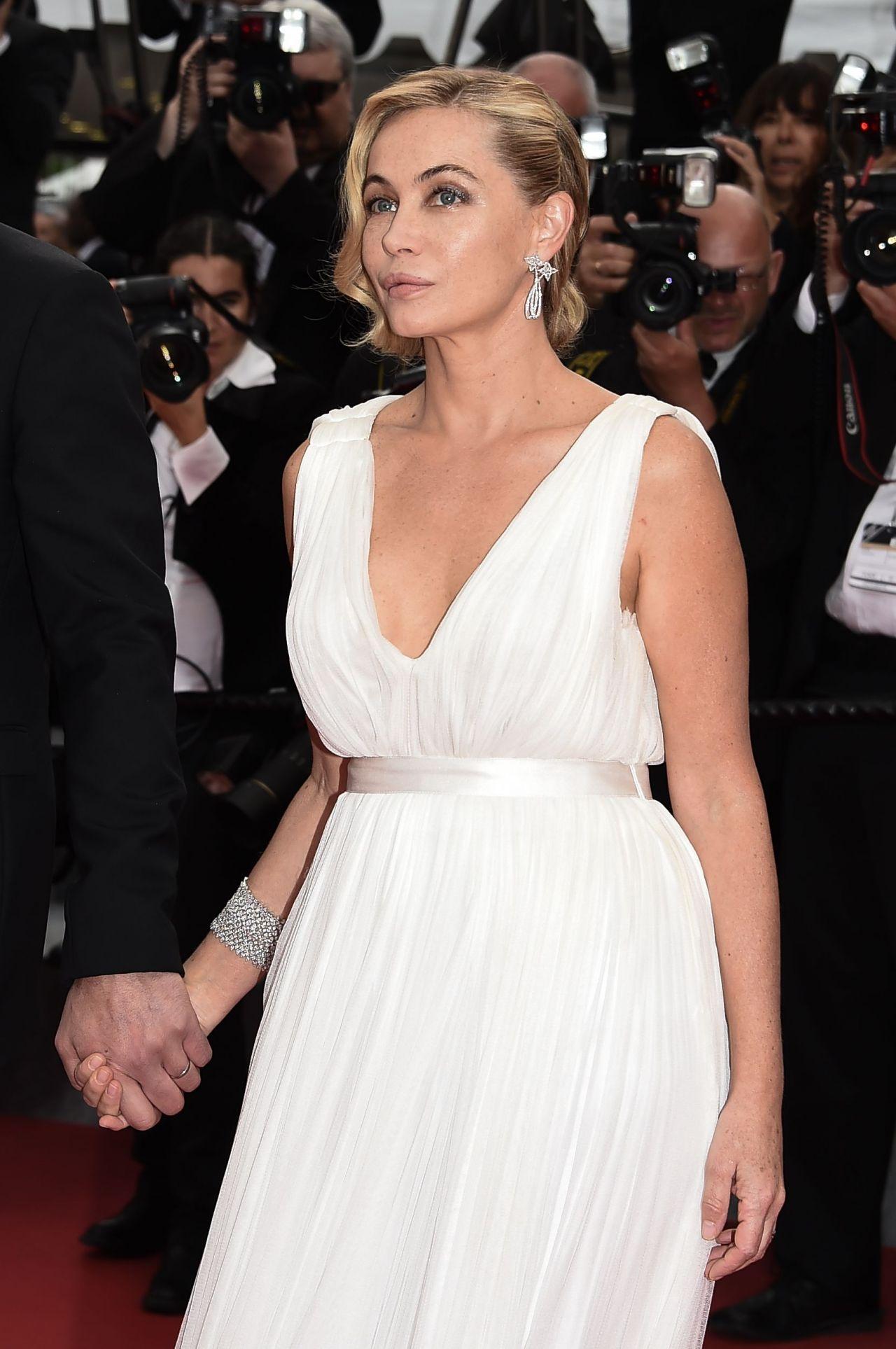 Emmanuelle Béart - Irrationnal Man Screening - 2015 Cannes Film Festival