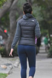 Emmanuelle Chriqui Booty in Tights, Out in Los Angeles, May 2015
