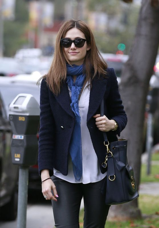 Emmy Rossum Casual Style - Out in Los Angeles, May 2015