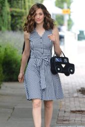 Emmy Rossum Casual Style - Out in West Hollywood, May 2015
