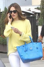 Emmy Rossum Style - Leaving