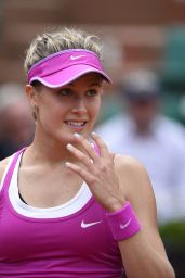 Eugenie Bouchard - 2015 French Tennis Open at Roland Garros in Paris - 1st Round