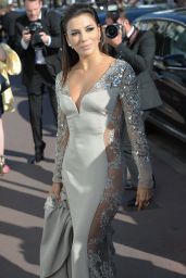 Eva Longoria - Leaving the Martinez Hotel in Cannes, May 2015