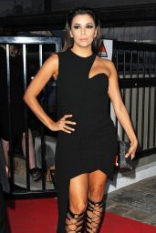 Eva Longoria Night Out Style - Out in Cannes, May 2015