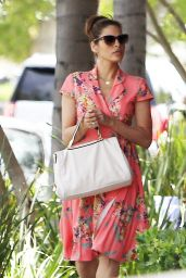 Eva Mendes Spring Style - Out in Los Angeles, April 2015
