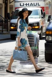 Famke Janssen Style - Out in New York, May 2015
