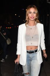 Ferne McCann in Ripped Jeans - Sadie Frost