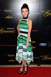 Genevieve Hannelius - 2015 Gracies Awards in Beverly Hills