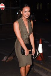 Georgia May Foote Night Out Style - The Milton Club in Manchester, May 2015