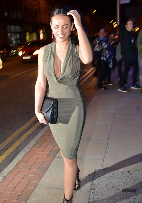 Georgia May Foote Night Out Style – The Milton Club in Manchester, May 2015