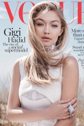 Gigi Hadid - Vogue Magazine (Australia) June 2015 Issue