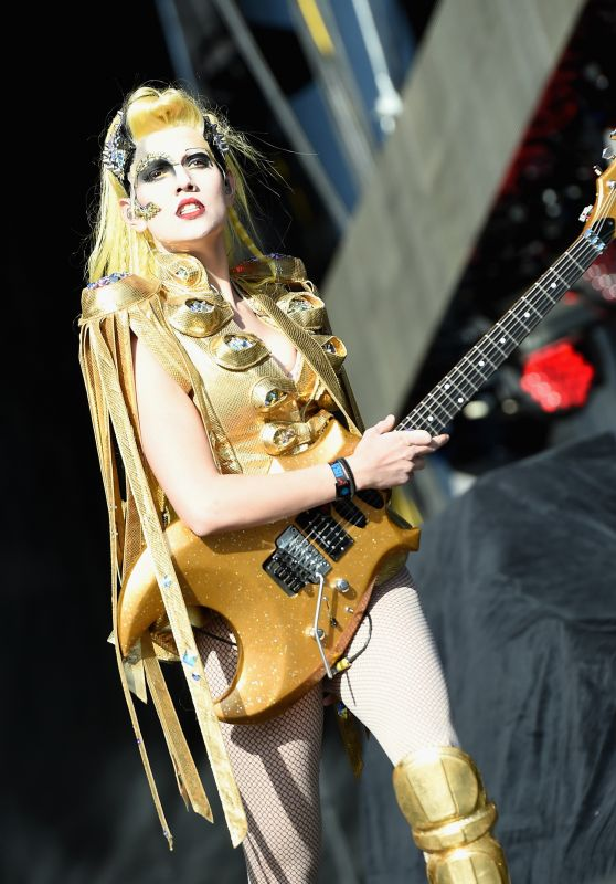 Gina Gleason Perform on the Opening Day of the 4-Day Rock in Rio USA 2015 Music Concerts in Las Vegas
