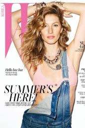 Gisele Bündchen - W Magazine (Korea) July 2015 Cover and Photos