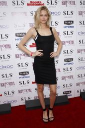 Hailey Clauson – Sports Illustrated Fight Weekend Party at SLS Las Vegas, May 2015