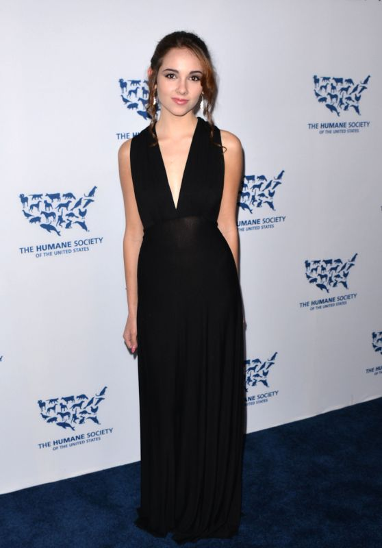 Haley Pullos - The Humane Society Los Angeles Benefit Gala, May 2015