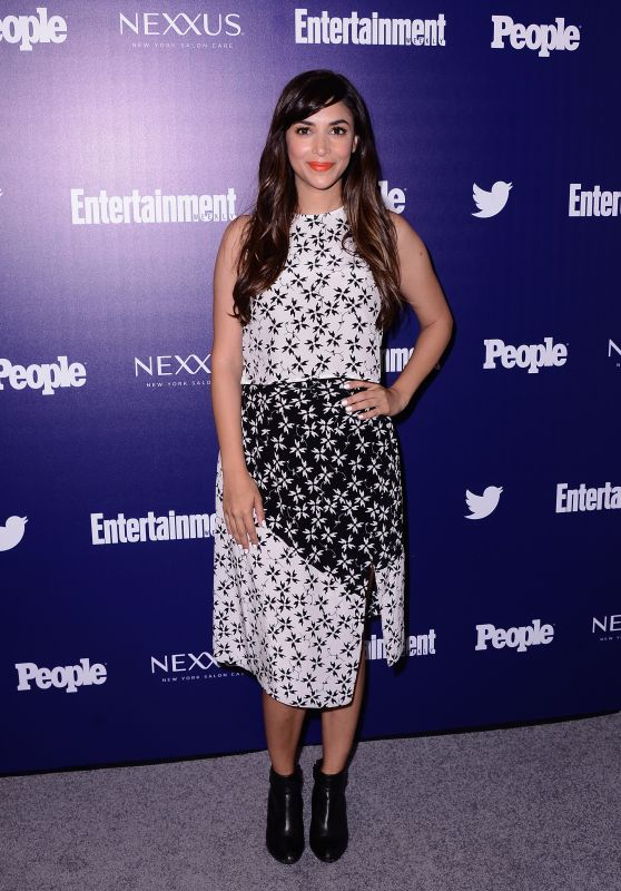 Hannah Simone – Entertainment Weekly And PEOPLE Celebrate The NY Upfronts, May 2015