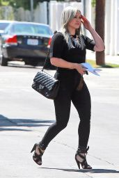 Hilary Duff Casual Style - Out in West Hollywood, May 2015
