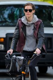 Hilary Rhoda - Bike Riding in New York City, May 2015