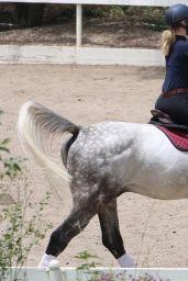 Iggy Azalea - Horseback Riding in Los Angeles, May 2015